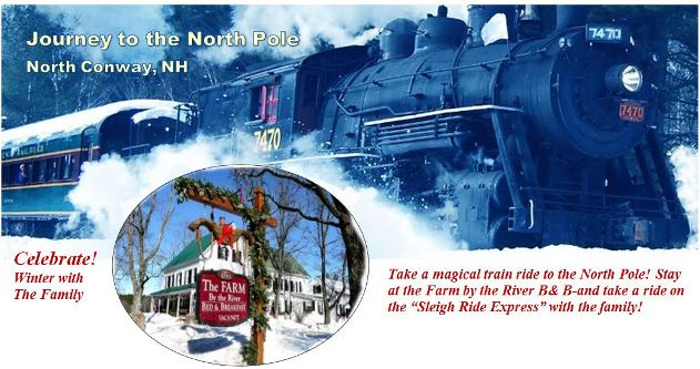 Journey to the North Pole (formerly the Polar Express) Packages at the Farm by the River B and B with Stables