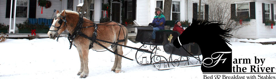 Sleigh rides in the Mount Washington Valley, North Conway, NH