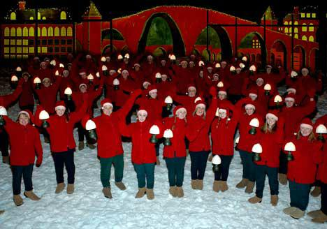Journey to the North Pole with the elves
