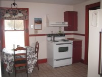 Full kitchen in this North Conway Vacation Home