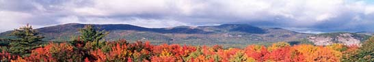 Mount Washington Valley in the White Mountains