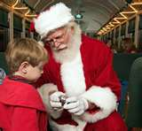 Stay at the Farm by the River B and B,Nort Conway and meet santa and the elves at the Polar Express