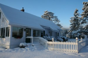 Vacation Rental with Sleigh Rides, North Conway- Alpine Moose Cottage