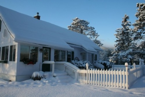 Alpine Moose Cottage Vacarion rental in the mountains- North Conway, NH