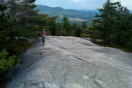 Take a guided mountain bike adventure in North Conway with Eastside Bike Guides