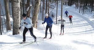 X-C Nordic skiing lodging Package-Farm by the River B and B, North Conway
