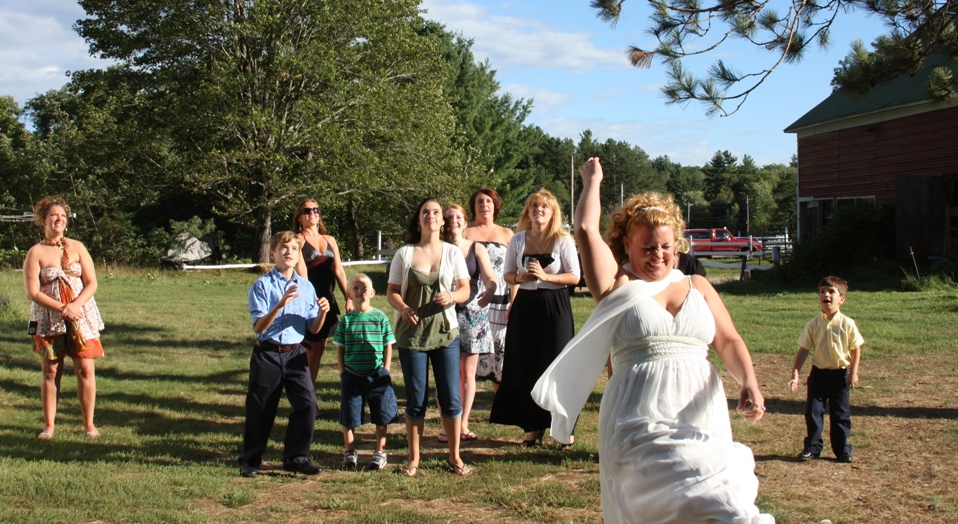 Weddings at the Farm by the River - a joyous event